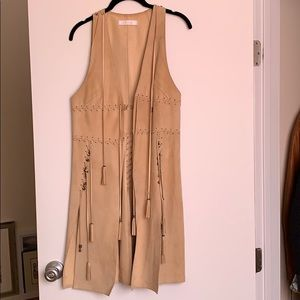 Chloé leather vest